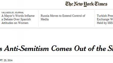 Bruxelles, ville antisémite d'après le New-York Times