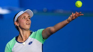 Elise Mertens qualifiée pour les quarts de finale du tournoi WTA hobart