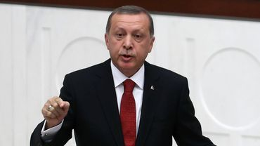 """Le président Erdogan a répété sa volonté d'amener son pays à une adhésion à l'UE, à la peine depuis 2005, y voyant une """"stratégie gagnant-gagnant""""."""