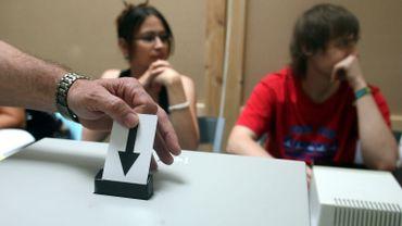 Un système expérimental de vote automatisé était en test à Woluwé-Saint-Pierre (illustration).