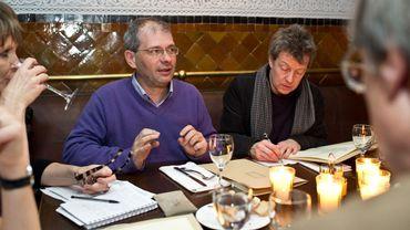 Driss Ksikes et Pascal Goffaux