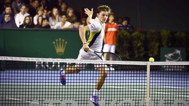 "Tennis: Goffin a reçu son prix du 'Come-back player of the Year"" à Londres"