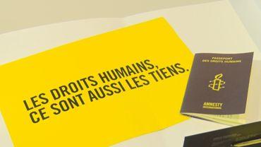 Amnesty enverra une Déclaration universelle des droits de l'homme par foyer francophone