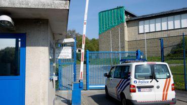 Vue de la prison de Jamioulx, en province de Hainaut, le 6 mai 2016.