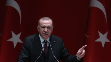 """""""Nous frapperons le régime partout"""" a déclaré le président turc à propos de la Syrie."""