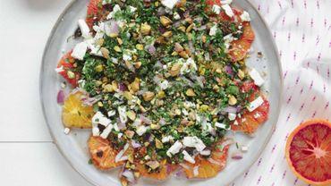 Les Mi'dinettes: Salade d'oranges sanguines aux olives noires