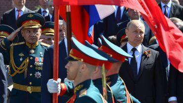 La Russie célèbre la victoire sur l'Allemagne nazie avec une parade militaire