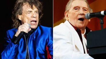 Mick Jagger avec Jerry Lee Lewis