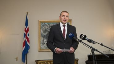 Gudni Johannesson, président de l'Islande