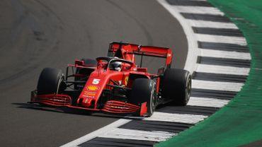 Du nouveau pour la voiture de Vettel