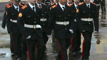 Illustration - jeunes Cadets russes