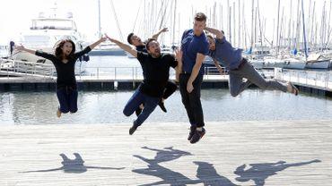 """Les acteurs de """"Screen Australia"""", en pleine promotion au MIPTV de Cannes"""