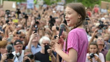 Greta Thunberg à Berlin