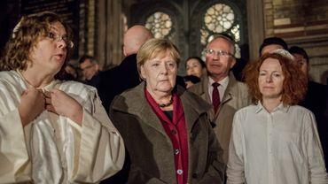 Attentat de Halle: Angela Merkel au chevet de la communauté juive d'Allemagne