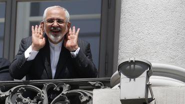 Les principaux acteurs de la négociation, l'Américain John Kerry et l'Iranien Mohammad Javad Zarif (photo)