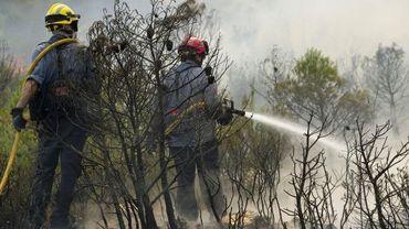 De violents feux de forêt ont embrasé la Catalogne