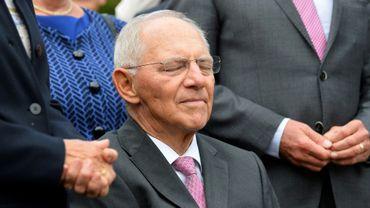 Le ministre allemand des Finances Wolfgang Schäuble à Offenburg en Allemagne, le 18 septembre 2017