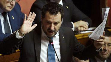 Matteo Salvini en chute libre dans les sondages.