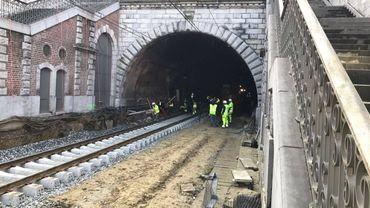 Rupture de canalisation à Saint-Josse: fuites d'eau sous contrôle, tunnel ferroviaire rouvert lundi