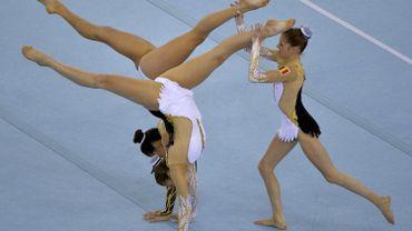 L'or pour le trio belge en gymnastique acrobatique