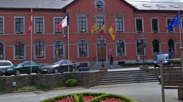 La maison communale de Nassogne.