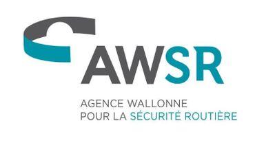 Le sigle de la nouvelle Agence Wallonne pour la Sécurité Routière