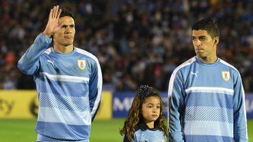 Oscar Tabarez présélectionne 26 joueurs dont Suarez et Cavani