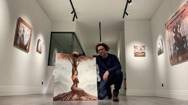 Les peintures de Palix à découvrir dans sa salle d'exposition permanente à Rossignol-Tintigny