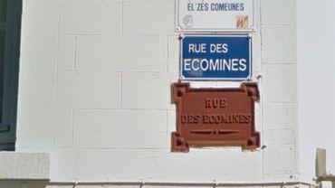 Certaines villes wallonnes affichent déjà quelques noms de rue en wallon. Ici, à Spa.