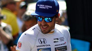 Fernando Alonso aux 500 Miles d'Indianapolis