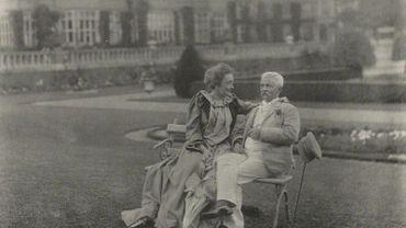 NPG Ax68486; Lady Dorothy Stanley (nÈe Tennant); Sir Henry Morton Stanley by Eveleen Myers (nÈe Tennant)