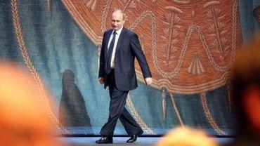 Le président russe lors d'une soirée de gala à Saint-Pétersbourg, le 2 mai 2013