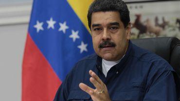 Le président Nicolas Maduro, le 16 mai à Caracas