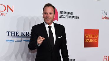 """Kiefer Sutherland a incarné Jack Bauer dans """"24 Heures Chrono"""" de 2001 à 2014"""