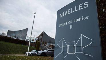 Le palais de justice de Nivelles.