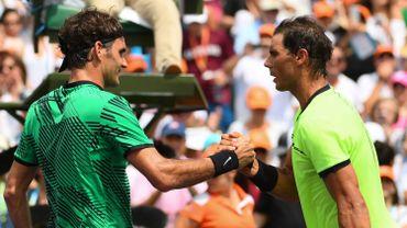 Roger Federer et Rafael Nadal
