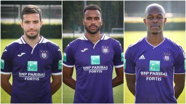 Anderlecht: Des transferts pour Chipciu, Thelin et Musona dès cet hiver?