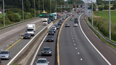 E40 vers l'Allemagne: plus de 4 kilomètres de ralentissement à hauteur d'Herstal