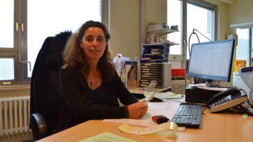 Evelyne Berlingin, dermatologue au CHU Ambroise Paré à Mons.