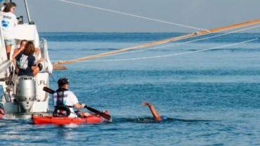 Une Américaine de 64 ans boucle la traversée Cuba-Floride à la nage à sa 5e tentative