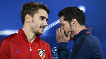 Football : Griezmann avec Simeone