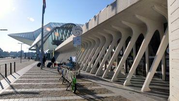 La SNCB diminue sa contribution au point-vélo de la gare des Guillemins à Liège