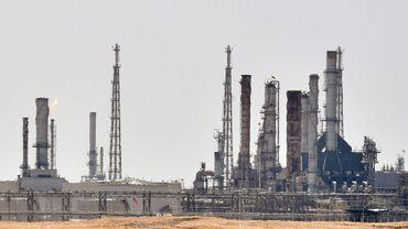 Des installations pétrolières du géant de l'énergie saoudien Aramco, le 15 septembre 2019 au sud de Ryad