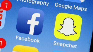 """Facebook vieillit et son public aussi: les ados lui préfèrent de plus en plus Instagram ou Snapchat, jugés plus modernes et plus """"fun"""""""