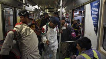 Caravane des migrants: 5000 personnes reprennent leur marche vers les Etats-Unis