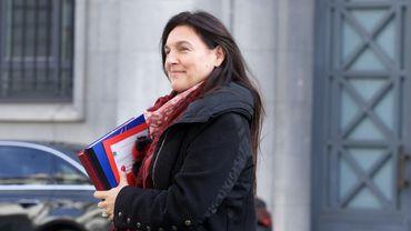 Marie-Christine Marghem (MR), ministre fédérale de l'Énergie.
