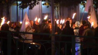 Charleroi : 3e marche aux flambeaux pour sauver le HF4 de Carsid