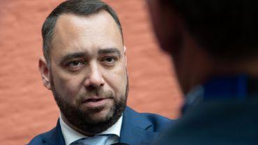 """Maxime Prévot appelle les libéraux et les écologistes à """"accepter une négociation""""."""