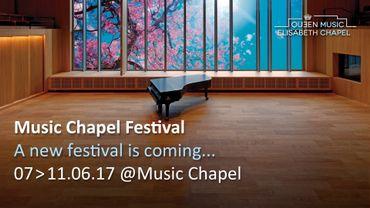 La Chapelle musicale lancera le MuCH Waterloo festival en juin