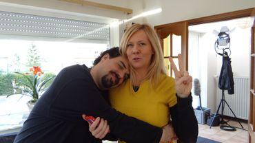 Julie Huon et Michel Dufranne